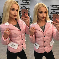 Курточка с брошью «Chanel» 4 цвета