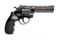 """Револьвер под патрон Флобера PROFI 4,5"""" (пластик черный)"""