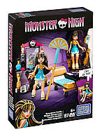 Mega Bloks Monster High Cleo's Gore-geous Vanit Клео де Нил конструктор