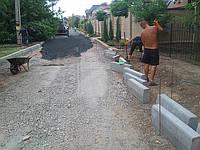 Бордюрный камень (бордюр дорожный) Харьков
