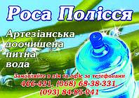 Доставка питьевой бутылированой артезианской воды