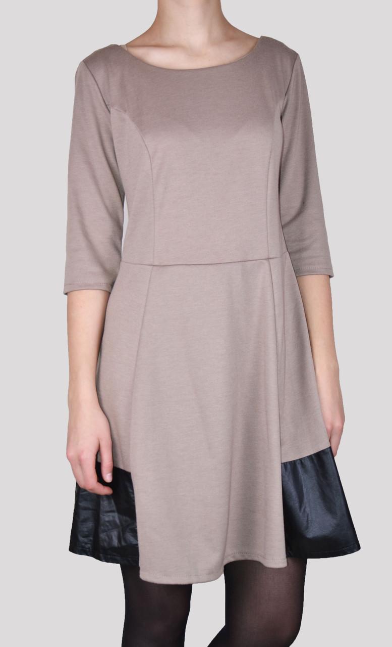 Женское платье со вставко внизу (WZ2) | 2 шт.
