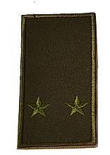 Погон хакі на липучці лейтенант (старий зразок)