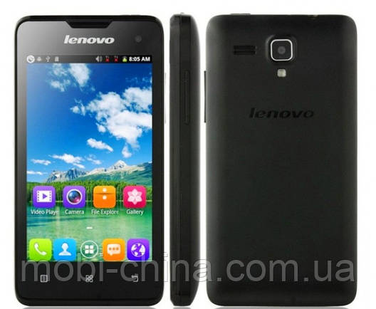 Смартфон Lenovo A396  A3 Black ', фото 2