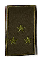 Погон хаки на липучке старший лейтенант