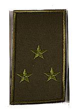 Погон хакі на липучці старший лейтенант (старий зразок)