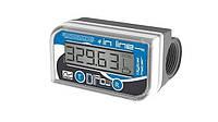 IN-LINE 10-150 л/хв, +/-1% Електронний лічильник для дизельного палива, масла/
