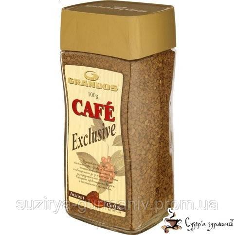 Растворимый кофе Grandos Exclusive 50г, фото 1