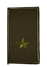 Погон хаки на липучке майор (старый образец)