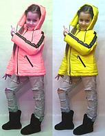 Демисезонная курточка Shanel для девочек