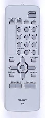 Пульт JVC RM-C1150 (TV) (CE)