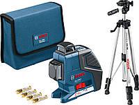 Лазерный нивелир Bosch GLL 2-80 P + BS 150, фото 1