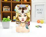 Чехол для Samsung Galaxy Star Advance G350 панель накладка с рисунком сова, фото 8