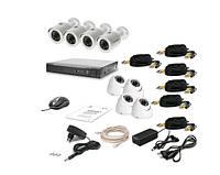 Комплект видеонаблюдения Tecsar 8OUT-MIX LUX, фото 1