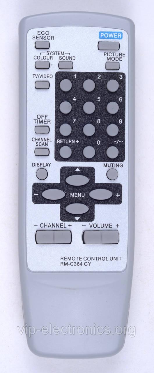 Пульт JVC RM-C364 (TV) (CE)