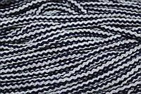 Шнур акрил 6мм. (100м) св.серый+т.синий, фото 1