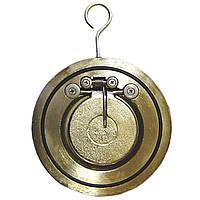 Обратный стальной клапан межфланцевый, подпружиненный(хлопушка) Dn150