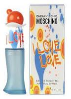 Женская туалетная вода Moschino I Love,Love 50ml