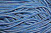 Шнур акрил 6мм. (100м) св.серый+василек