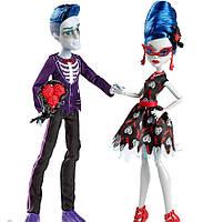 Куклы Monster High Гулия Йелпс (Ghoulia Yelps) и Слоу Мо (Slo Mo) Любовь не умирает