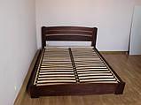 """Двуспальная кровать """"Селена Аури"""" из бука (щит, массив) с подъемным механизмом, фото 5"""