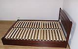 """Двуспальная кровать """"Селена Аури"""" из бука (щит, массив) с подъемным механизмом, фото 7"""