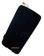 Дисплей (LCD) Fly IQ4405 Quad Evo Chic с сенсором (тачскрином) Black Original