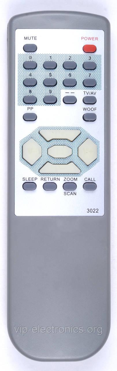Пульт Konka 3022  (TV) (CE)