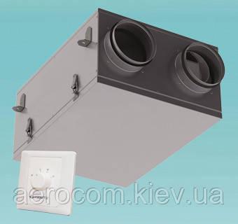 Приточно-вытяжная установка с рекуперацией ВУТ 100 П мини