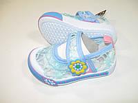 Текстильная обувь для девочек, размеры 19,20,24, арт. 0903 В- L 2003