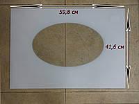 Каленое внешнее стекло Гефест модель 1100 размером  598 х 416 см