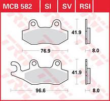 Комплект тормозных колодок для мотоциклов / квадроциклов TRW / Lucas MCB582SI