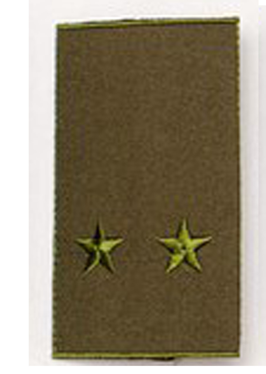 Погон  хаки муфта лейтенант (старый образец)