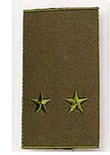 Погон хакі муфта лейтенант (старий зразок)