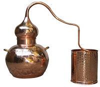 Аламбик на 5 литров, без колонны, паяный