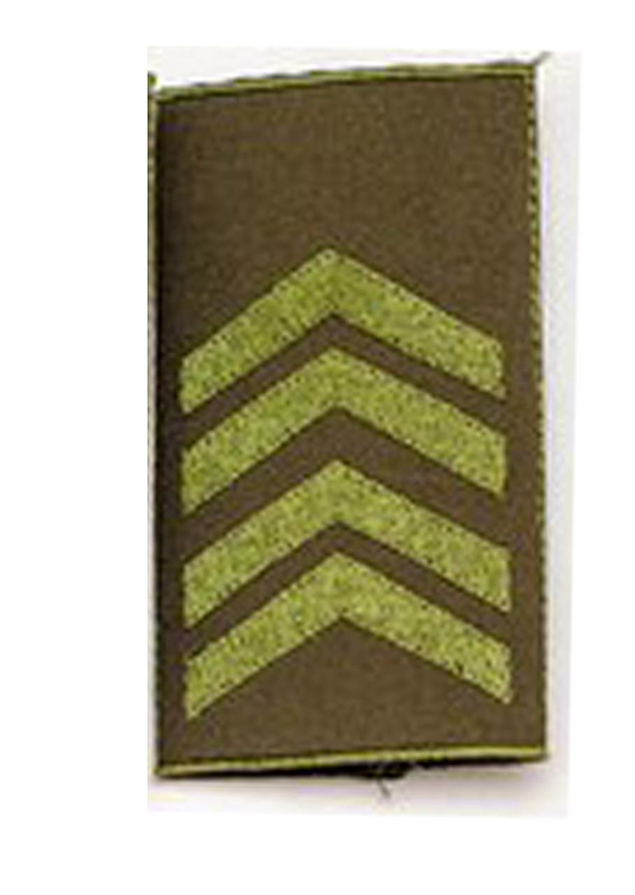 Погон  хаки муфта старший сержант (старый образец)