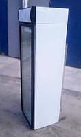 Стеклянный холодильный шкаф бу объем 370 л