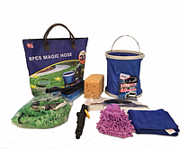 Набор для полива XHOSE bag 8 in 1, садовый шланг стрейч хоз xhose, набор для мойки автомобиля