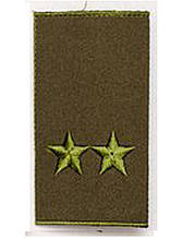 Погон  хаки муфта подполковник (старый образец)