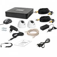 Комплект видеонаблюдения Tecsar AHD 2OUT-DOME