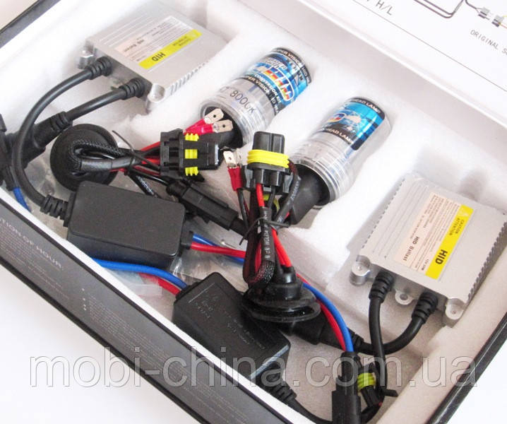 HID XENON H7 8000K 12V 35W - комплект ксеноновых ламп для авто