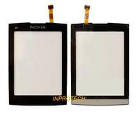 Сенсор (тачскрин) Nokia X3-02 Black Original (Taiwan)
