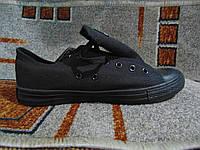 Женские кеды Converse All Star оригинал черные классика
