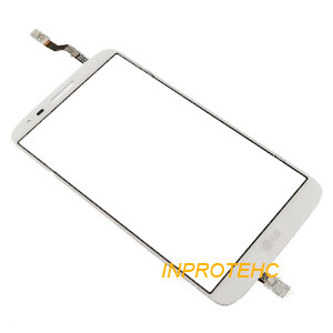 Сенсор (тачскрин) LG D820 White Original