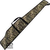 Чехол для винтовки с карманом камуфляж (мультикам).