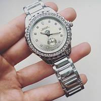 Часы женские Rolex Diorama серебро, магазин наручных часов