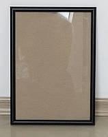 Рамки А4 черного цвета для фото и дипломов