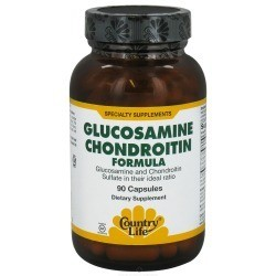 Для укрепления суставов Glucosamine / Chondroitin Formula (90 капс.) Country Life