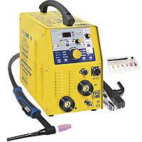 Сварочный инвертор GYS TIG 207 AC/DC HF FV (аксессуары SR26DB-4M)