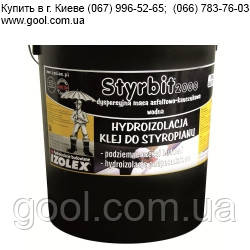 Изолекс Стирбит 2000 мастика гидроизоляционная и клей для пенополитсирола